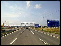 Реклама на границе с Финляндией. КПП Торфяновка
