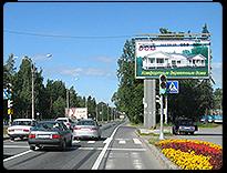 Реклама вдоль трасс Ленинградской области